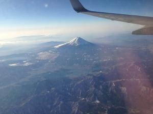 02. Mt Fuji from plane